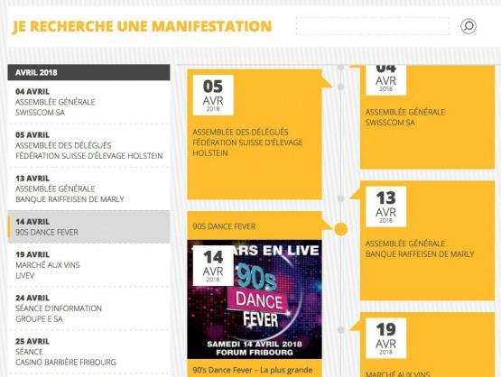 Forum Fribourg - Agenda