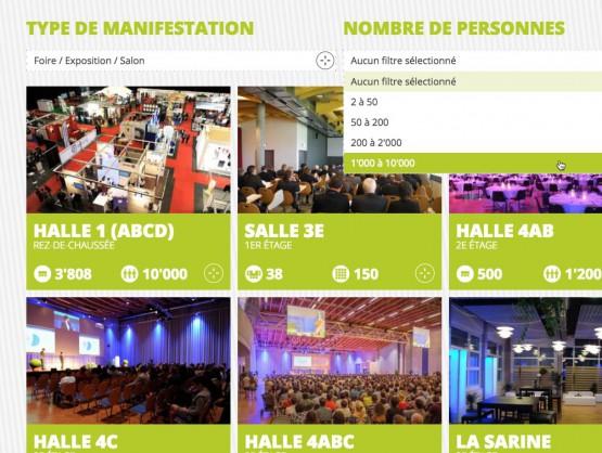 Forum Fribourg - Réservations de salles