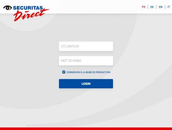 Securitas Direct - application web d'aide à la relation clientèle