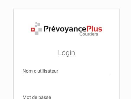 Prévoyance Plus - Console d'administration