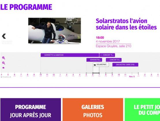 Comptoir Gruyérien - Programme des animations